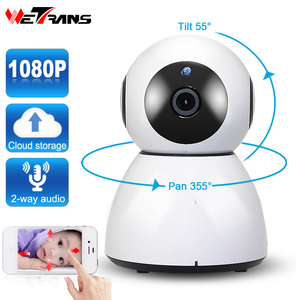 Inteligent TR-GX201H 1080P Easy Connection Plug and Play P2P Robot IP Wifi Camera 1080P Wireless Web Camera