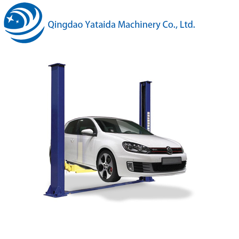 two post vehicle lift for sale hydraulic mechanical small car lifting machine used for repairing car