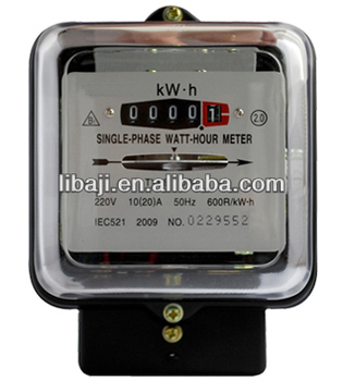 Single Phase Terminal Block Electric Meter Digital Voltage Energy ...
