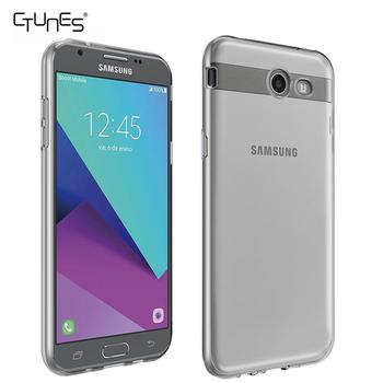 For Samsung J3 Prime CaseGel Slim Durable Shock Absorbing Clear TPU Back Case Cover