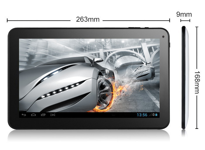 10 inch quad core tablet pc Allwinner A33 Android4.2 ram 1G flash 16G bluetooth