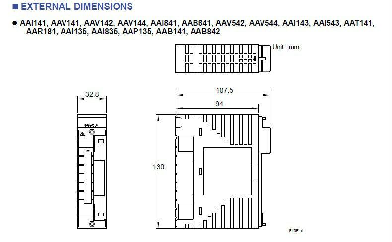 Yokogawa DCS Module Analog I/O Modules AAI141-S50 Analog Input Module (4 to 20 mA, 16-channel, Non-Isolated)