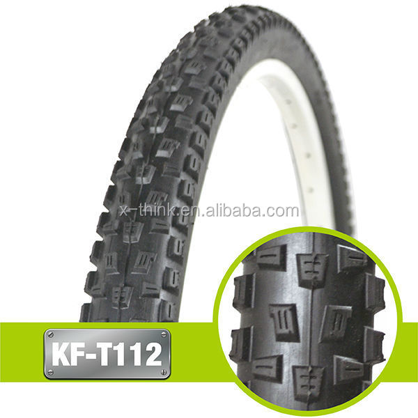 High quality mountainsolid rubber bicycle tiree 26*2.10