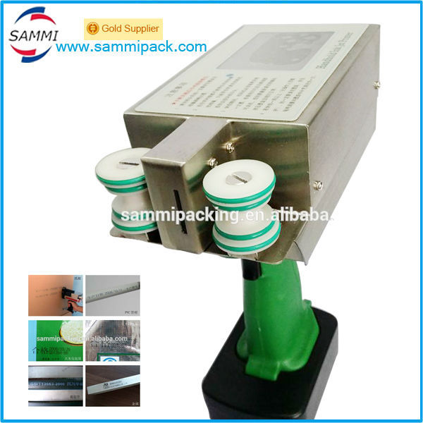 High-Speed-Handheld inkjet drucker maschine, druck mit coder, charge datum, logo oder text