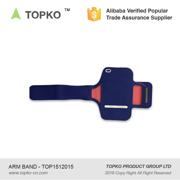 Topko Neoprene Phone Arm Band Sport Waterproof Armband With ...