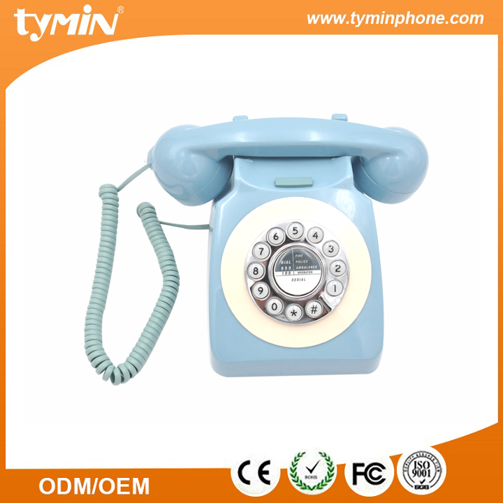 TM-PA188 New Arrival stationary phone corded antique vintage telephone