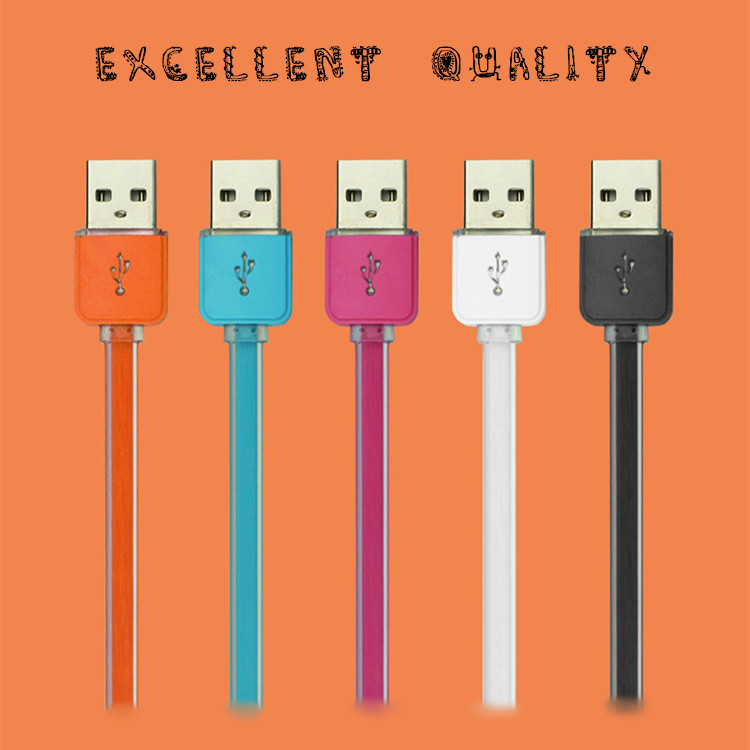 Spdak Brand Quality USB data cable 2.1A current fast charger USB charger cable with intelligent LED
