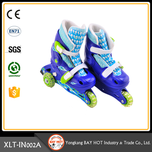 Elegant shape Perfect NO.1 electric roller skates quad skates 3 wheel inline