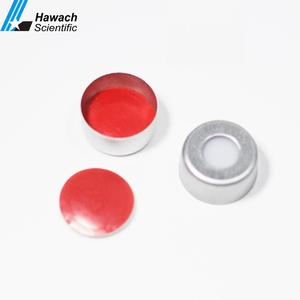 9mm Crimp Top Aluminum Plastic vial cap