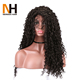 Different curly styles wig wholesale 100% virgin human hair curly lace front wig in Miami