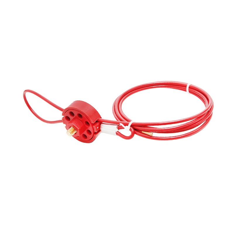 Sicherheit Lock Gerät Produkt Rad Typ Lockout Nylon Kabel lockout lock