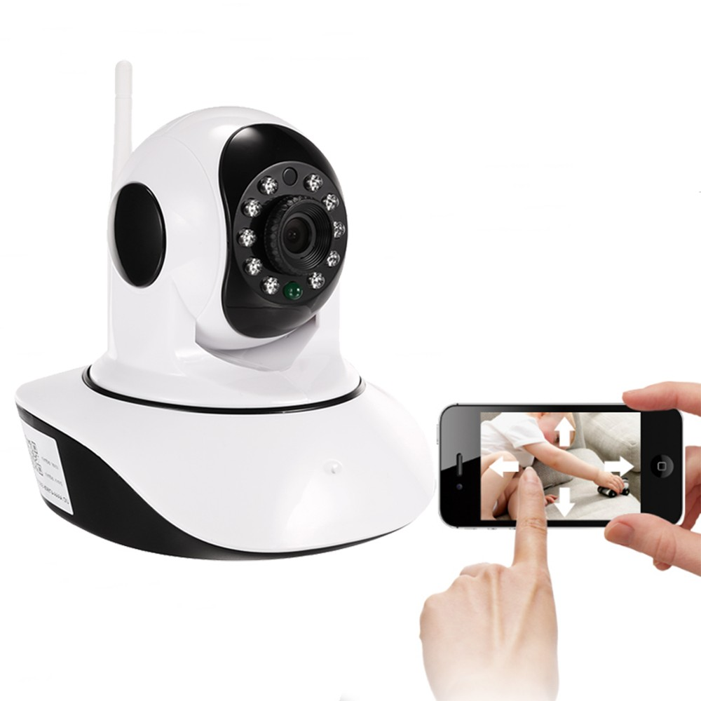 home security wireles cell phone controlled remote 720p pan/tilt baby care ip camera wireless