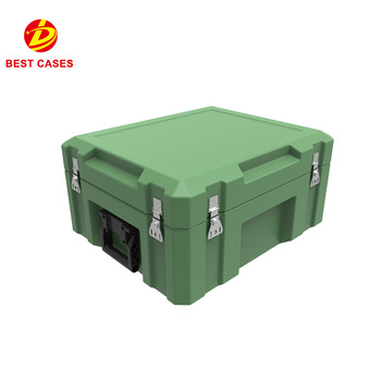 small size rotomolding plastic military hard carry tool case with foam in side