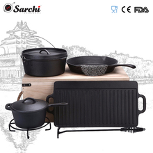 bush craft cast iron camping outdoor shijiazhuang sarchi cookware