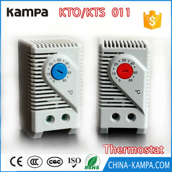 KTS011 Small Size Industrial Thermostat for Cabinet Temperature Controller Normally Open ( 0~+60 Degree)