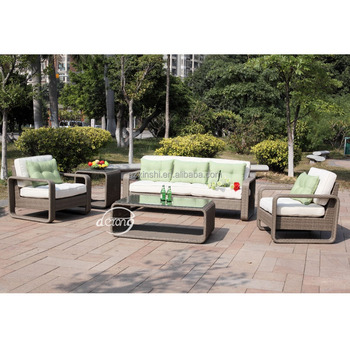 Outdoor Sofa Furniture Patio Garden Use Set Living Room Waterproof Cushion And Pillows