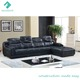 Foshan factory living room furniture sectional leather sofa set designs