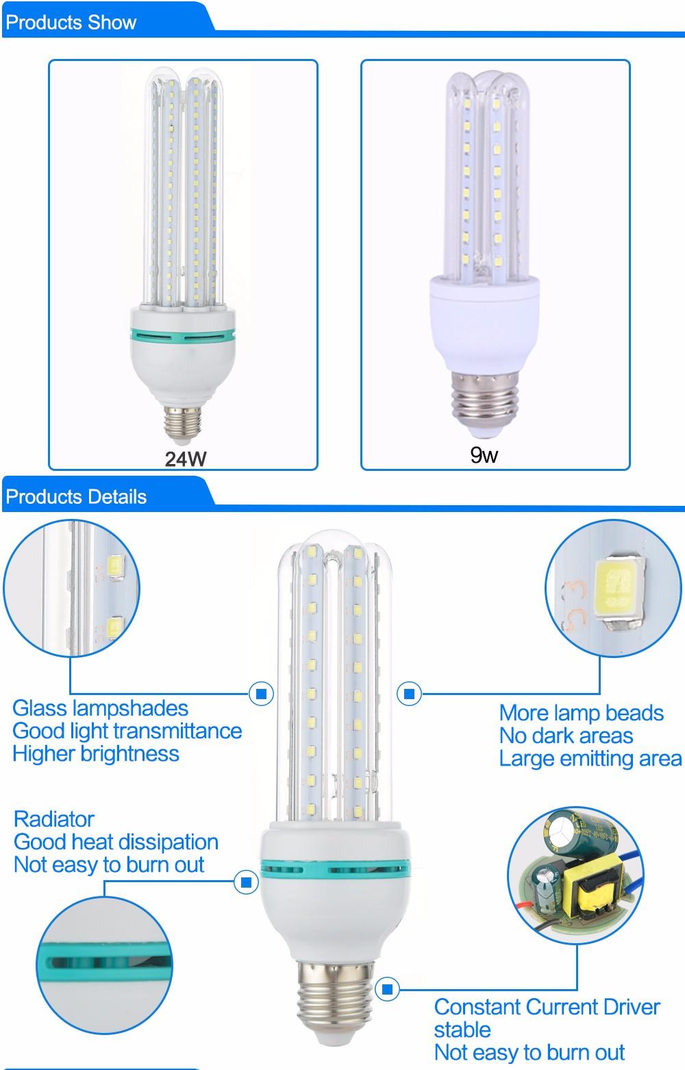 165-265v Smd2835 E27 Led Light Bulb 3w Home Lighting Energy Saving ...