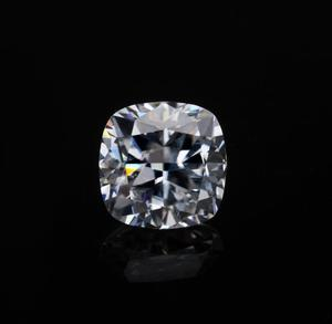high density 6.5mm cushion cut moissanite