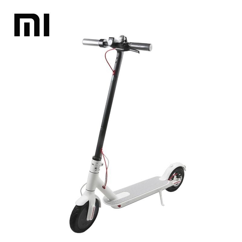 2018 New Arrival Original XIAOMI MIJIA M365 Scooter, Folding Kick 8.5inch Electric Xiaomi Scooter, White / black (optional)