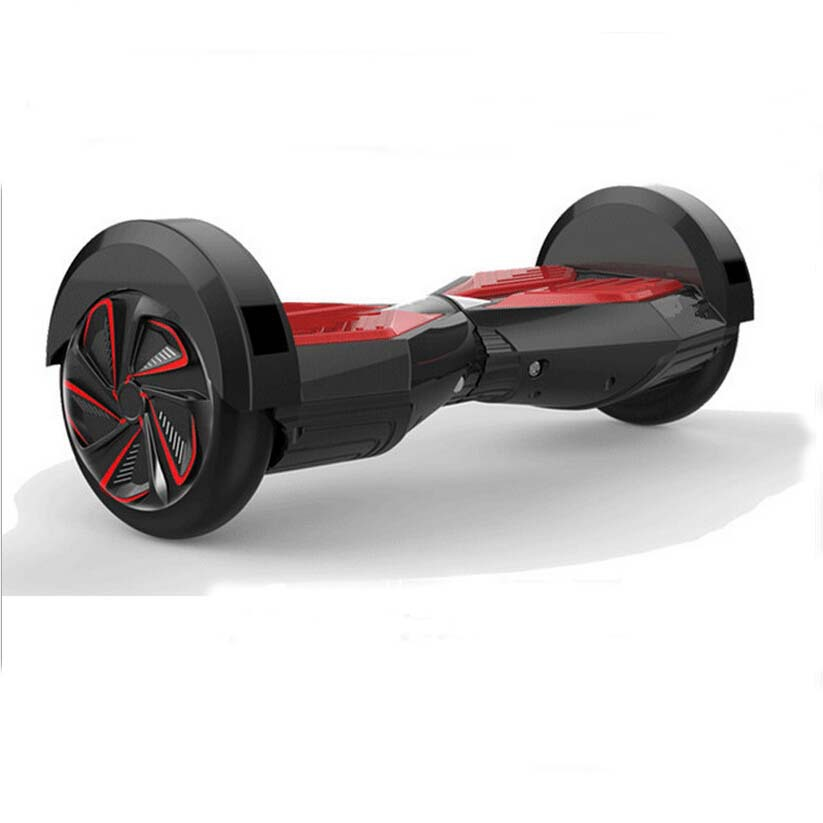 Dual Two Wheel Balancing Standing Scooter Electric Skateboard Scooter IO HAWK Hoverboard with Bluetooth Spesker S5
