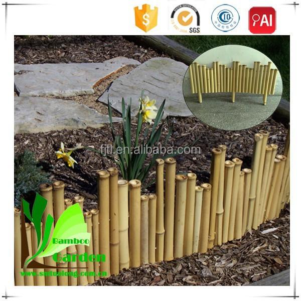 Jardiner a bamb valla jard n bamb cubierta de borde for Vallas de bambu para jardin