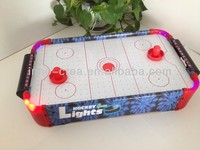 Air hockey table fashion design with led lights