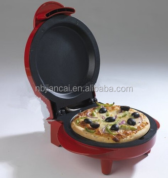 Best Selling Electric 750w Portable Pizza Maker Cooking