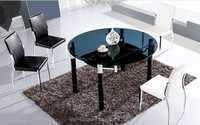 luxury round dining table extendable