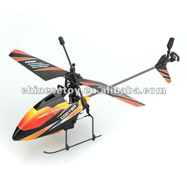 top sale 2.4Ghz 4ch single propeller LCD screen display controller gyro rc helicopter