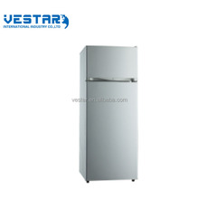 CE/GS/CB/SAA certificates luxury quality R600a direct cooling system 220V/50HZ top mounted refrigerator