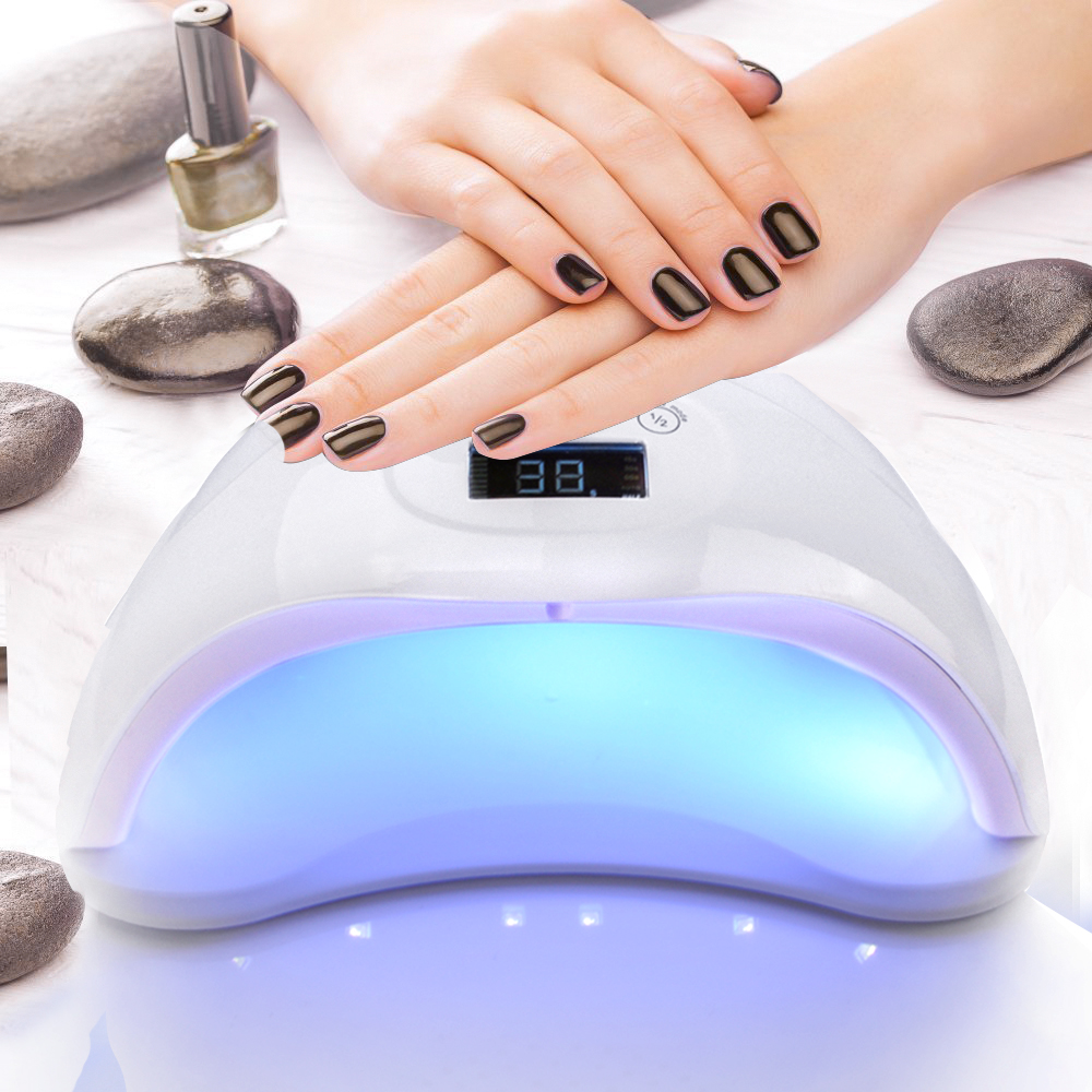 LED Nail Lamp Nail Dryer Gel Polish Curing Automatic Manicure Dryer 24 led Lights