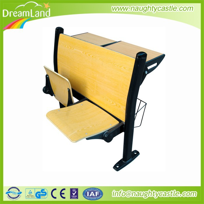 Guangzhou school desk and chair / school desk with bench