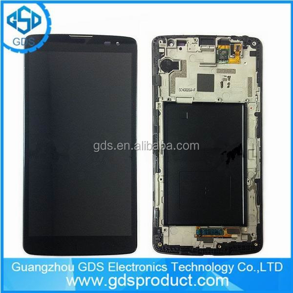 Black LCD Touch Screen Digitizer Assembly With Frame For LG G Vista D631 VS880