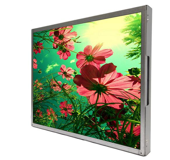 RGB/VGA DVI 17'' industrial open frame <strong>monitor</strong> 1280x1024 for applications