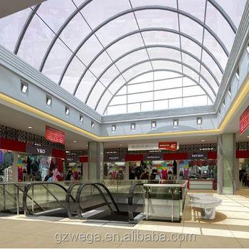 Double Glazing Thermal Break Aluminum Roof Skylight