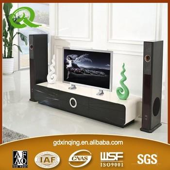 Soggiorno Arredamento Moderno Design Luminoso Cassetto Mdf E Base In ...