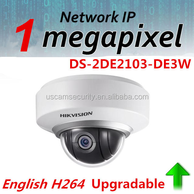 Hikvision 1.3MP Cloud IP Camera DS-2DE2103-DE3W PTZ 720P PTZ IP Camera