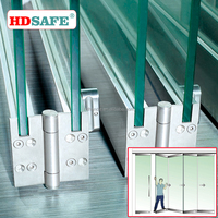 Professional Design Commercial Aluminum Frame Glass Folding Door