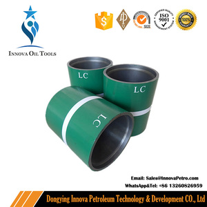 "API 5CT 9 5/8"" buttress thread BTC J55 N80 T95 Petroleum casing and Tubing coupling"