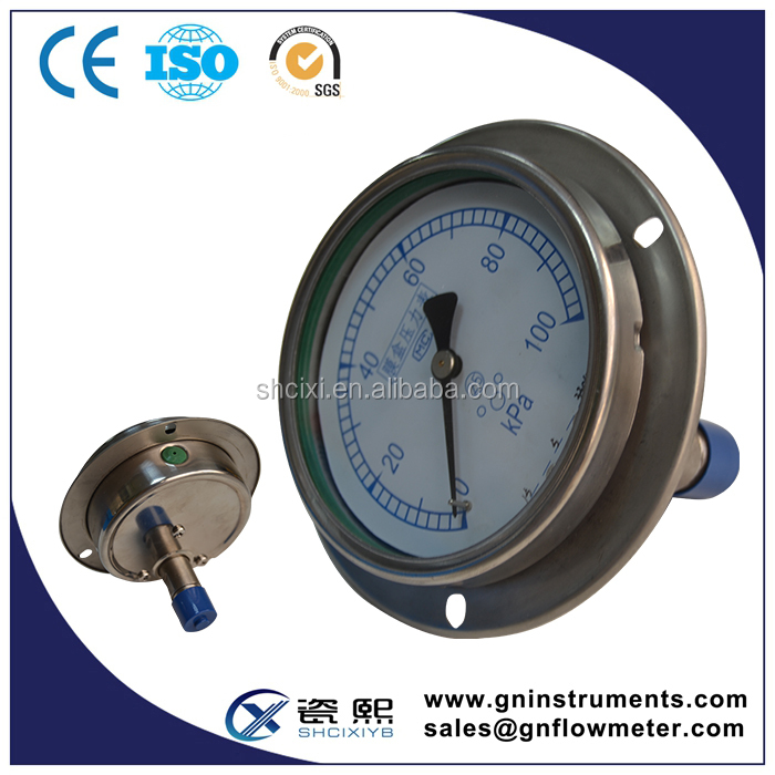 engine pressure gauge, small vacuum gauge, shockproof pressure meter