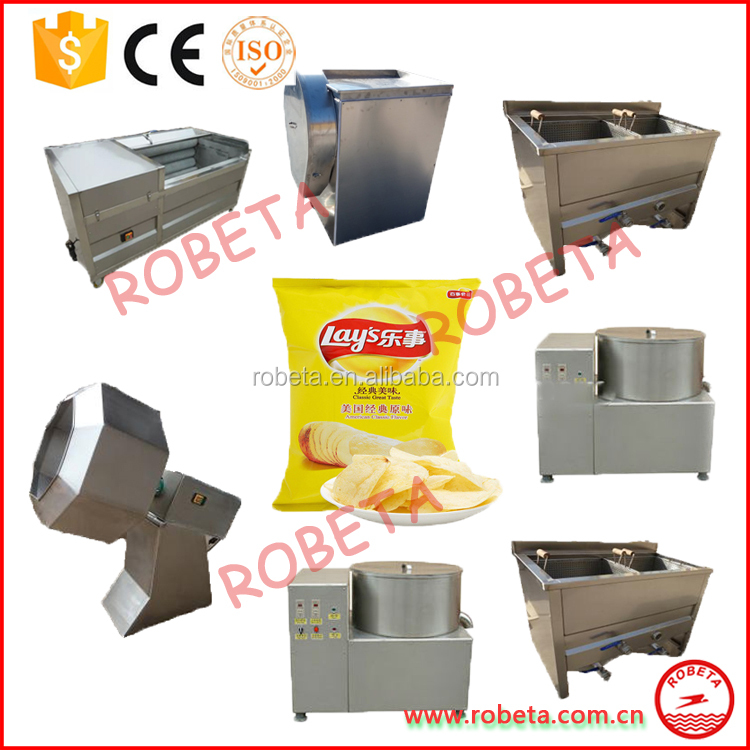 Mcdonald's KFC frozen french fries industrial processing machine
