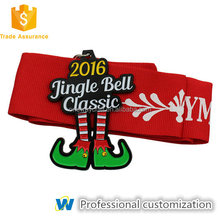 Custom Gift Jingle Bell Christmas Commemorate Medal