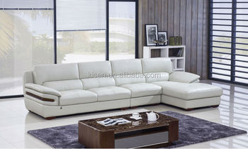 home furniture modern leather sectional indian style sofa