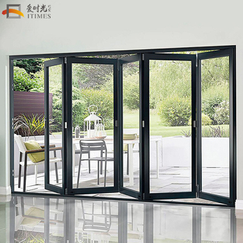 Wholesale Custom Lowes Bi Fold Door Folding Patio Doors