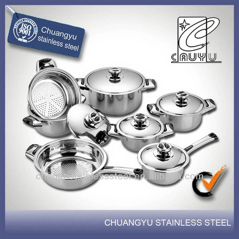 stainless steel china stainless steel waterless cookware