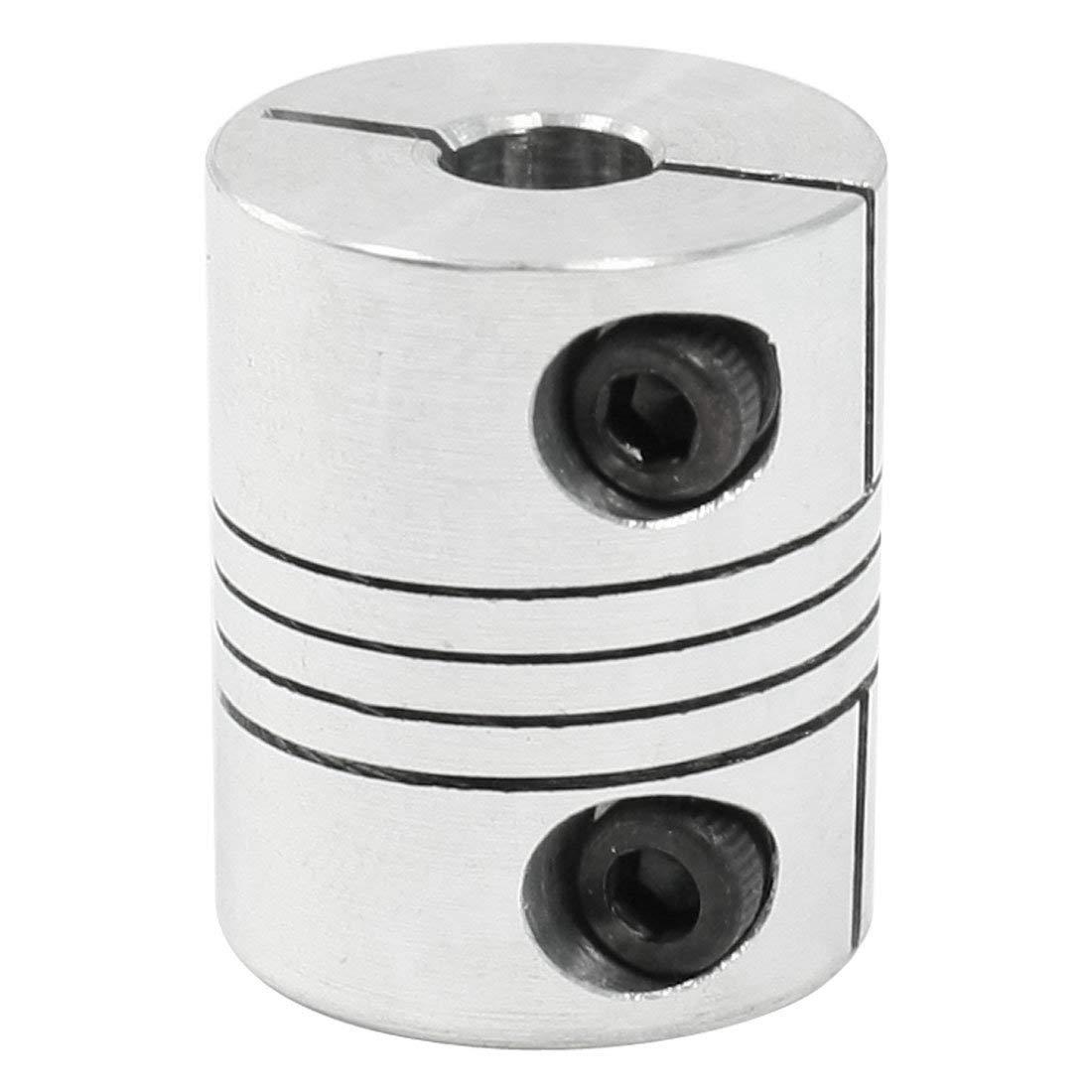 SODIAL(R) 6.35mm to 6.35mm CNC Stepper Motor Shaft Coupling Coupler for Encoder