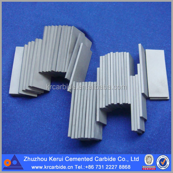 Welding Carbide Inserts On Metal Sheet For Cutting