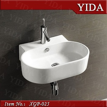 Great Wash Basin Price In Indian, Wall Mounted Small Size Bathroom Sink, Bathroom  Basin