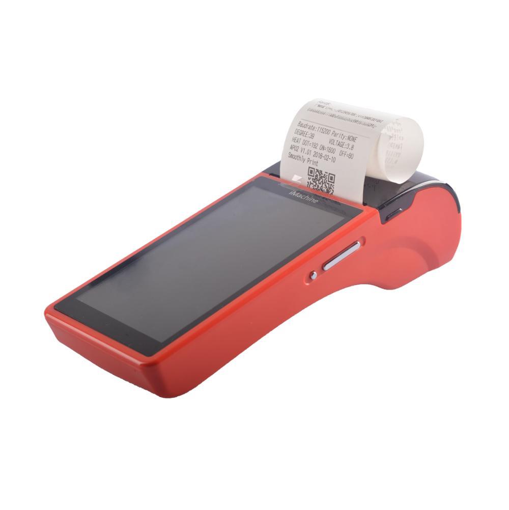Android mobile POS terminal punkt von verkauf cash register mit ROM 1GB + DDR 8GB speicher, bluetooth, wifi, scanner, drucker